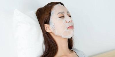 4. Sheet Mask sebagai Masker
