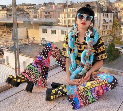 5 Unique & Colorful Looks Diana Rikasari untuk Tampilan Super Stunning Tanpa Terlihat Norak
