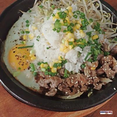 Resep: Beef Rice Hot Plate ala Pepper and Lunch untuk Buka Puasa