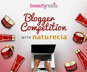 Beautynesia Blogger Competition with naturecia