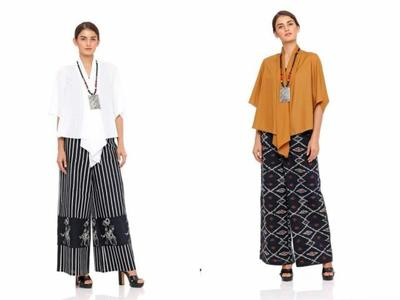 5 Rekomendasi Model Setelan Kulot Batik Modern untuk Acara Formal