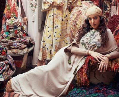 7 Inspirasi Outfit Lebaran Bernuansa Pastel ala Influencer, Kaftan Sampai Dress Cantik!