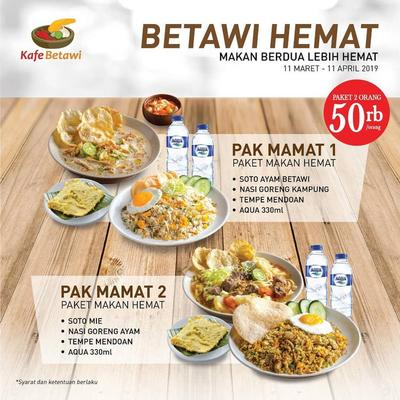 7 Promo Makanan Spesial Ramadan, Jangan Sampai Ketinggalan!