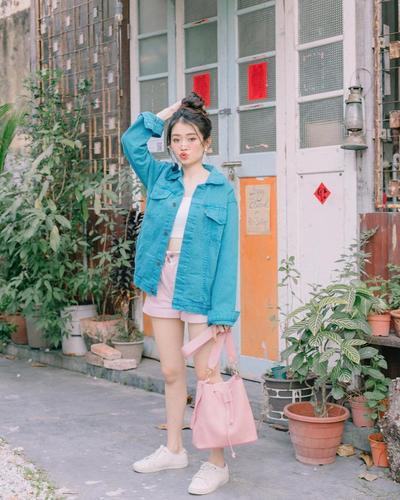 Jeans Jacket dan Mini Pants