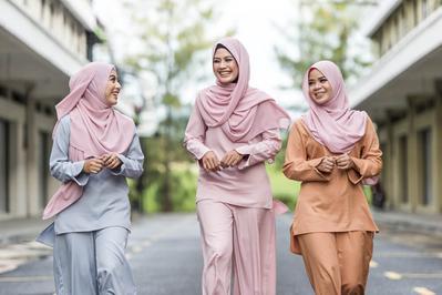Inspirasi Tampil Cantik Saat Silaturahmi Lebaran ala Hijabers