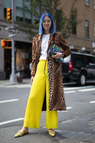 Contek, 3 Fashionista Dunia Ini Tunjukkan Cara Paling Chic Pakai Motif Leopard