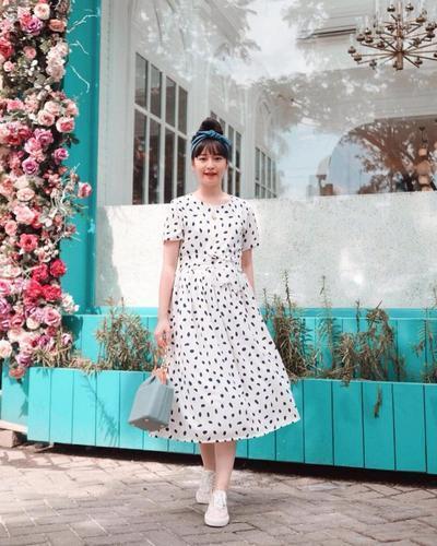 Inspirasi Gaya Baby Doll yang Imut dari Fashion Influencer Cherry Dreamy