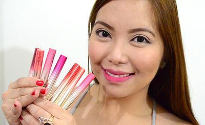 6. L'Oreal Paris Lipstick Tint Caresse