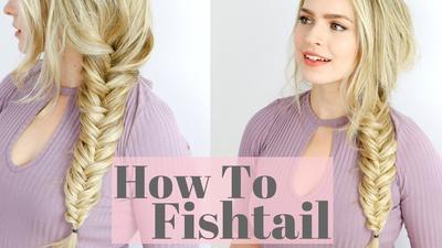Beauty Tutorial: Cara Mengepang Rambut Gaya Fishtail Braid yang Simpel nan Menawan