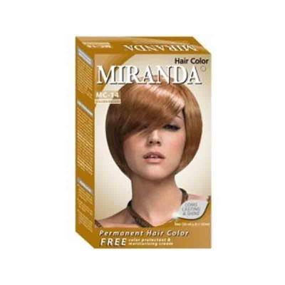 Warna Cat Rambut Miranda Golden Brown