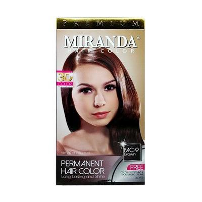 Warna Cat Rambut Miranda Coklat