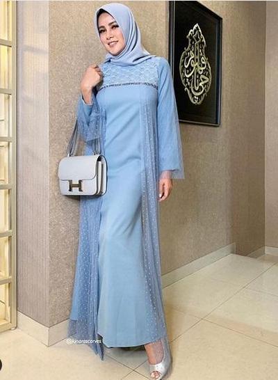 Hijab Sky Blue