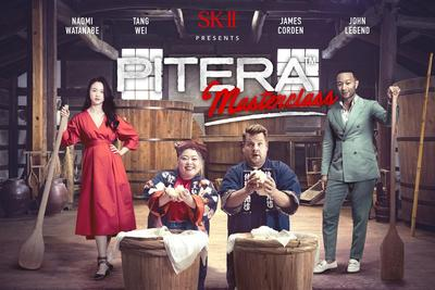 "Ikuti Petualangan John Legend, James Corden, Naomi Watanabe dan Tang Wei dalam ""PITERA™ Masterclass"""