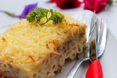 Resep: Cara Membuat Macaroni Schotel Kukus