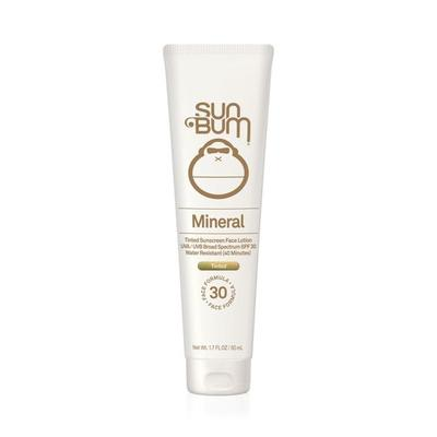 Sun Bum Mineral Tinted Sunscreen Face Lotion SPF 30