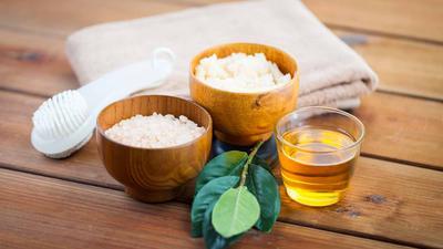 Perpaduan Garam dan Cuka Apel