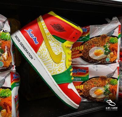 Dijual Rp3,3 Juta, Nike Jordan Rilis Sneakers Bertema Indomie