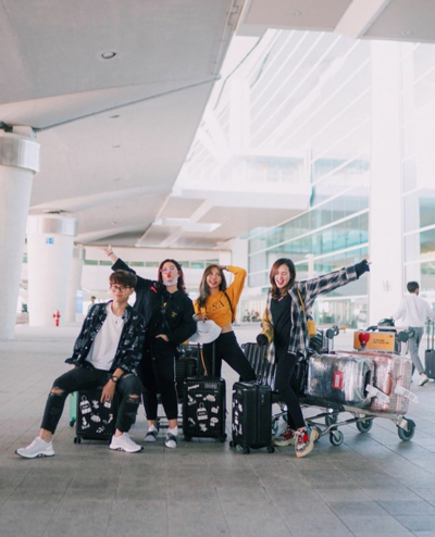 Potret Beby Tsabina Liburan di Korea, Cantik dan Menggemaskan!