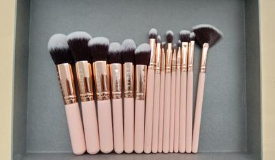 The Coral 15 Face & Eye Brush Set