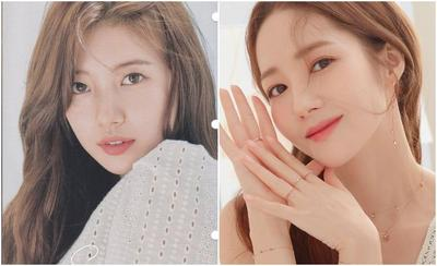 Penampilan Cantik Suzy dan Park Min Young dengan Dress Rp4 Jutaan, Mana yang Lebih Stunning?