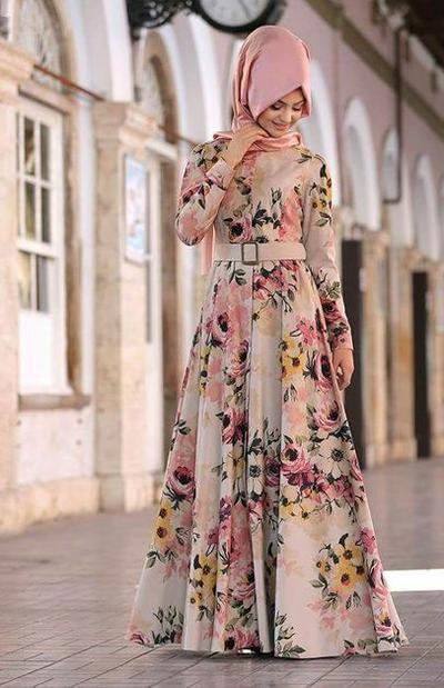 Flare Rose Dress