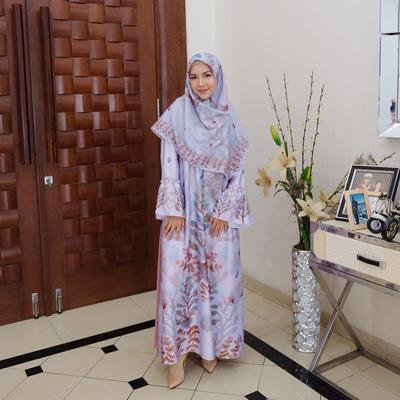 Gamis Flare Floral