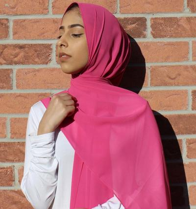 Jilbab Transparan