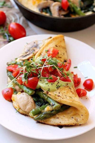 Omelette Sayuran
