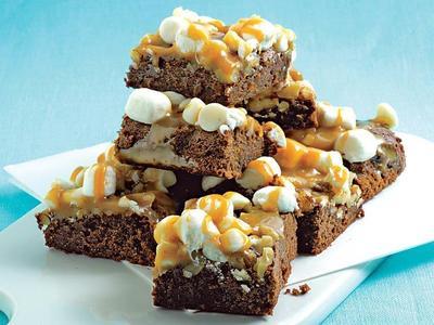 Yuk Bikin Caramel Marshmallow Brownies di Rumah, Ini Resepnya