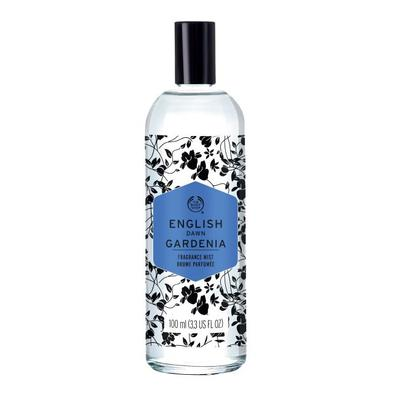 1.   The Body Shop Voyage- English Dawn Gardenia Fragrance Mist