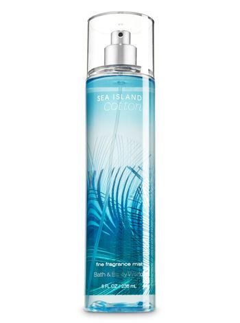 4.  Bath & Body Works Sea Island Cotton Fine Fragrance Mist