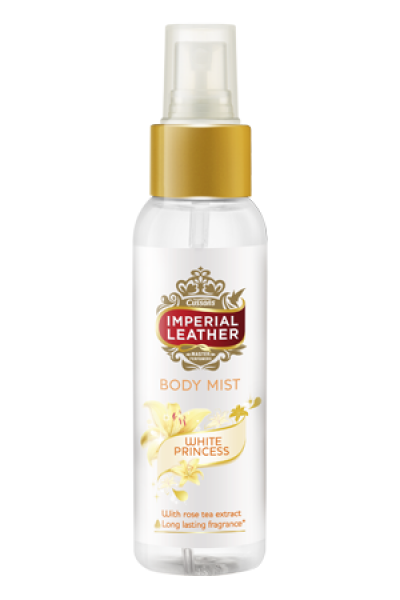 5.  Cussons Imperial Leather Body Mist White Princess