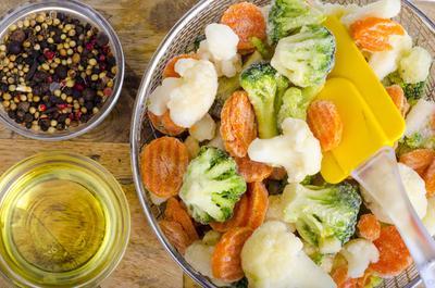 3.Cuci buah & Sayuran Sebelum Dibekukan
