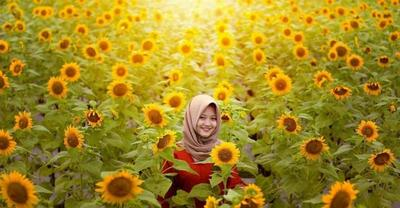 Bak Di Luar Negeri, Taman Bunga Ini Wajib Kamu Kunjungi