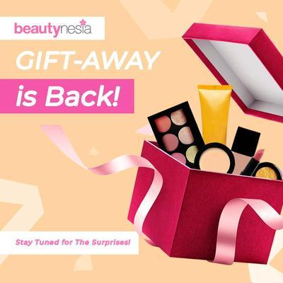 [GIFT-AWAY]  Beautynesia Berbagi Hadiah di GIFT-AWAY! Ikutan Yuk, Ladies!