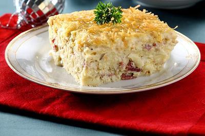Macaroni Schottel panggang