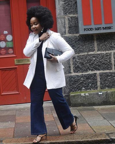 Celana Jeans & Blazer