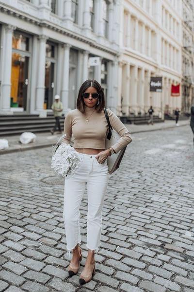 Jeans & Crop Top