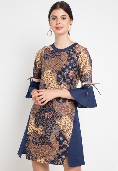 A-Line Dress Batik