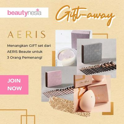 [GIVEAWAY ALERT!] Beautynesia Bagi-Bagi Brush dan Beauty Sponge dari AERIS BEAUTÉ