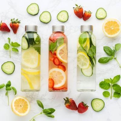 Cocok untuk Diet, Gunakan 7 Rekomendasi Isian Infused Water Ini
