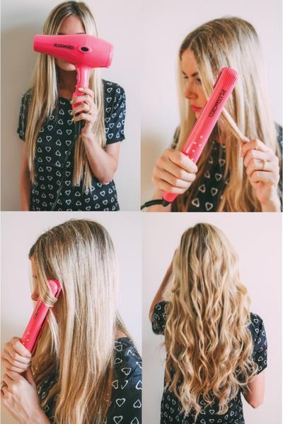 1. Gaya rambut ikal untuk berbagai acara