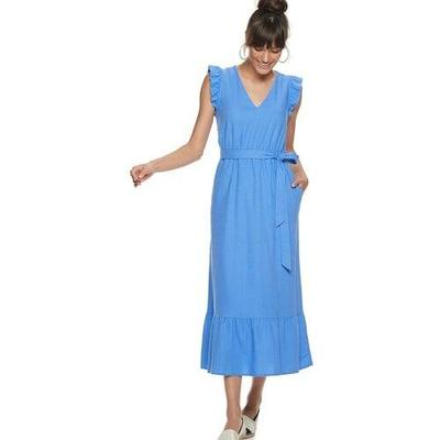 6. Midi Ruffle Dress