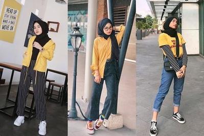Anti Norak-norak Club! Mix & Match Atasan Warna Kuning untuk Style ke Kampus