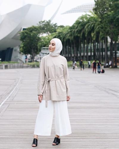 Hijab Warna Putih