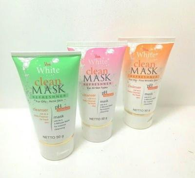 7. Viva White Clean & Mask