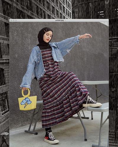 Ingin Tampil Tomboy dengan Hijab? Yuk Simak Inspirasi Style Hijab Tomboy Ini