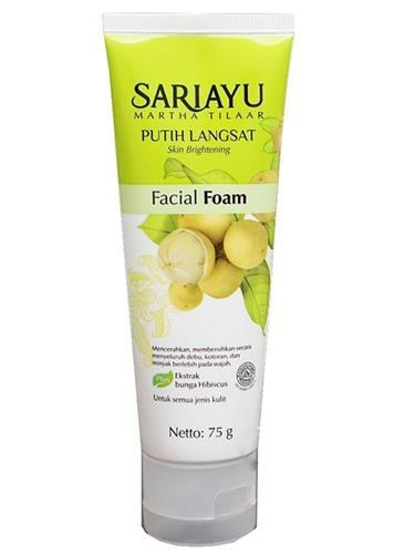 Facial Wash- Sariayu Putih Langsat Facial Foam