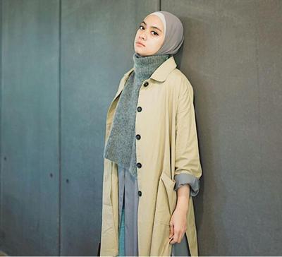 6 Tutorial Hijab Minimalis Ayudia Bing Slamet untuk Tampilan Sehari-hari
