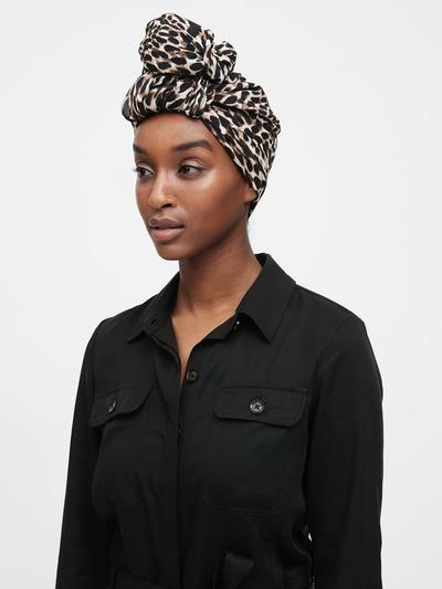 Banana Republic Rectangular Hijab (Leopard Print)